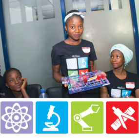 The Visiola Foundation's 2015 STEM Summer Camp for Teenage Girls took place in Abuja on August 17 – 22, 2015