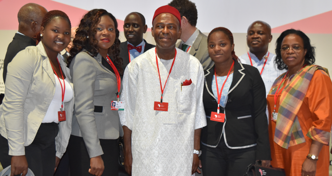 With Dr. Ogbonnaya Onu, Hon. Minister of Science & Technology, Nigeria