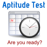 Aptitude Test - July 16, 2016