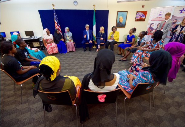 Sec John Kerry and the Visiola Foundation