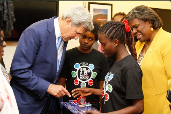 Sec Kerry, Ruth & Jessica