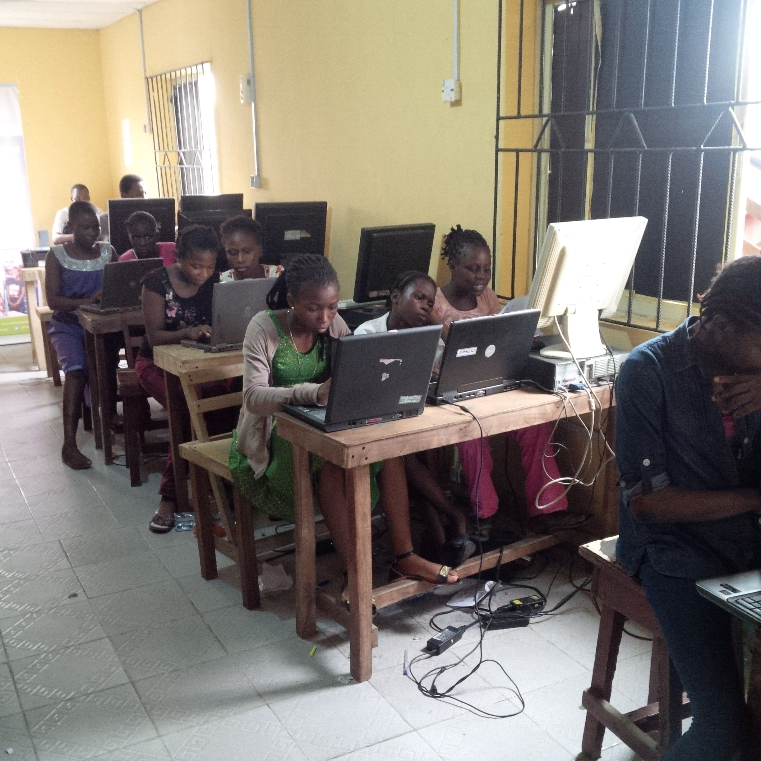 Lagos Coding Boot Camp for Girls