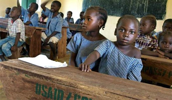 A public primary school in Nigeria