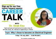 Career Talk with Dr. Ozak