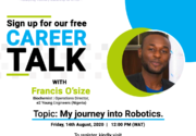 Career Talk with Francis O'size