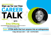 Career Talk with Ema Effiong