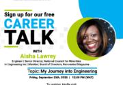 Career Talk with Aisha Lawrey