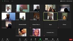 Virtual Camp Students