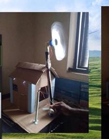 Wind Powered house Prototype