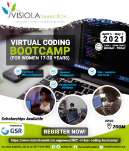 2021 Virtual Coding Boot Camp
