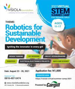 2021 Virtual STEM Summer Camp